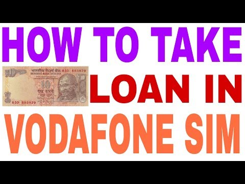 How to take 10 rs talktime and internet loan