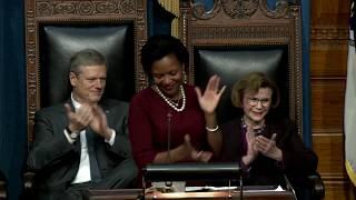 Farewell address of Sen. Linda Dorcena Forry, only black Massachusetts state senator