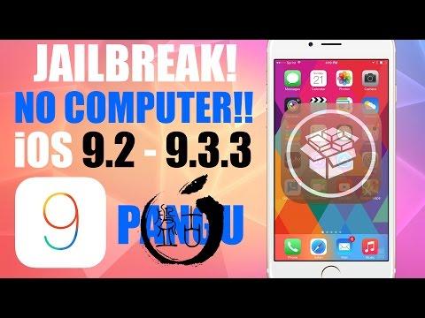 How to Jailbreak iOS 9.3.3 NO COMPUTER - PanGu iOS 9.3.2, 9.3.1, 9.3, 9.2.1, 9.2 SEMI-TETHERED