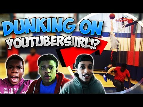 DUNKING On MyPark YouTubers IRL!? New York Vlog!! | PeterMc