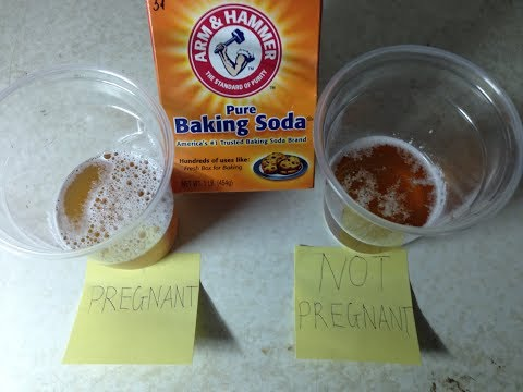 Homemade Pregnancy Test With Baking Soda | DIY Pregnancy Test