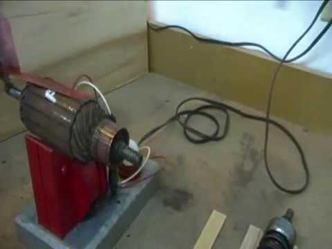 Growler DC Generator Starter Armature Testing