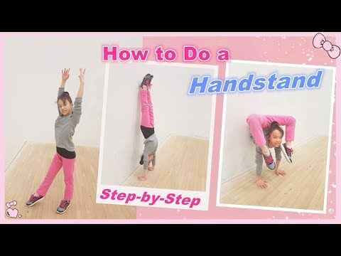 How to Do a Handstand: Step-by-Step for Beginners | RG Selena