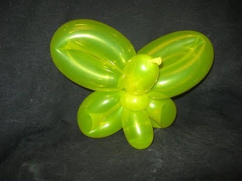 How to make a Butterfly with one 260Q Balloon