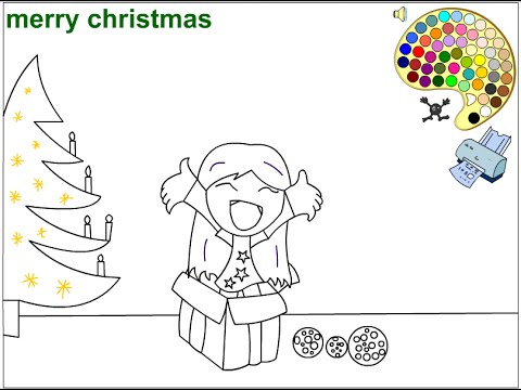 Christmas Coloring Pages For Kids - Christmas Coloring Pages