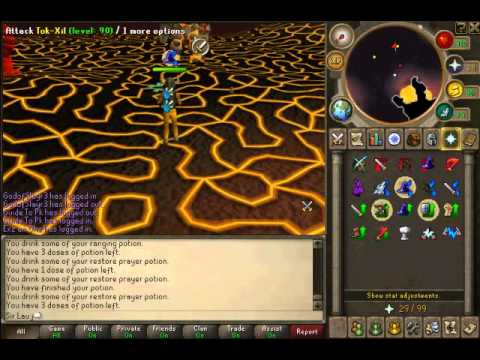 How To Kill Jad Requirements 45 Defence & SoulSplit