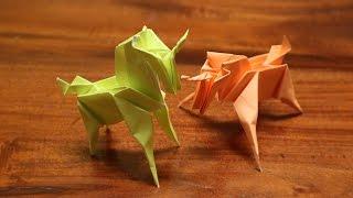 Cara Membuat Origami Raptor Dinosaurus | Origami, How to make ... | 180x320