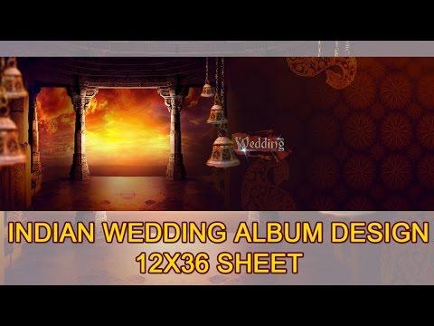 Psd wedding album design