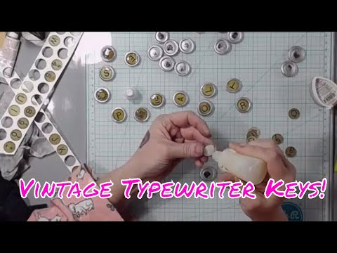 Saturday Night Live - Early - How to Make Faux Vintage Typewriter Keys!