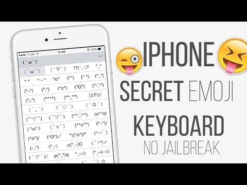 IPhone Secret Keyboard IOS 9 Emoji 2