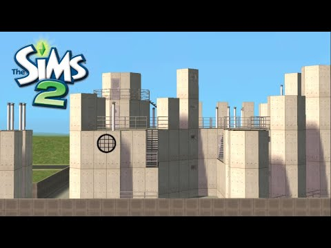 ♢ A Factory ♢ The Sims 2 ♢