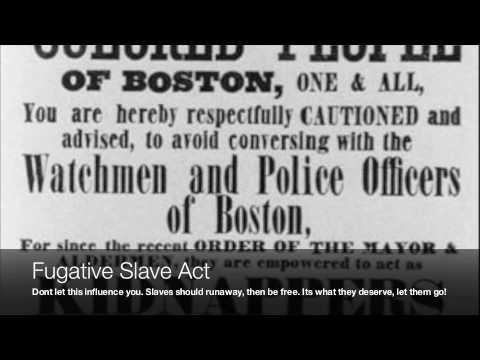 History anti-slavery movement video