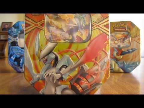 Pokemon White Kyurem EX Tin Opening (2nd time)