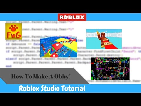 How To Make A Obby In Roblox Studio 2017!