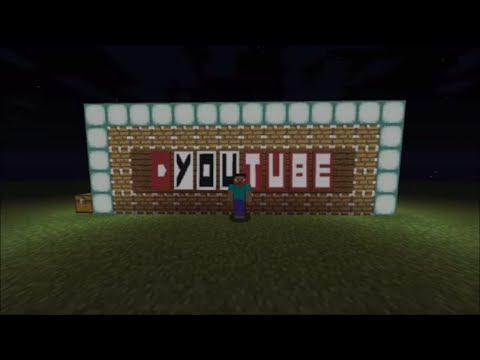 Minecraft YouTube logo (Banner)