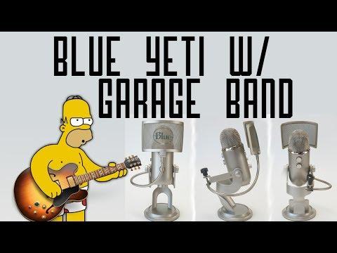My Commentary Garageband Settings Blue Yeti Mic!