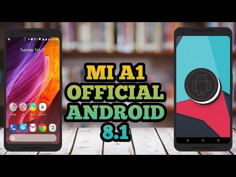 mi a1 oreo 8.1 beta Official Android Oreo 8.1 Beta on Xiaomi Mi A1   How to + Whats New ?