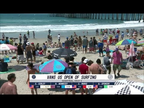 Vans US Open of Surfing: Semifinal, Heat 2