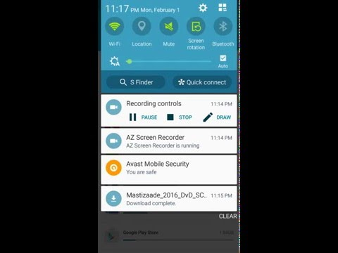 Samsung Galaxy S5 G900t Screen Recording HD Video