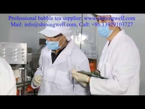 The top bubble tea machine, bubble tea production line by shiningwell