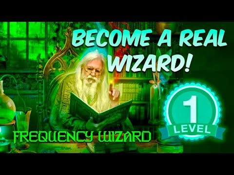 ⚡️BECOME A REAL WIZARD! LEVEL 1 -GET WIZARD POWERS! SUBLIMINAL AFFIRMATIONS MEDITATION FREQUENCY