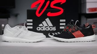5917bdcee6c3 THE TRUTH PURE BOOST 30 VS PURE BOOST ZG WHICH IS BETTER ADIDAS BOOST  SNEAKER