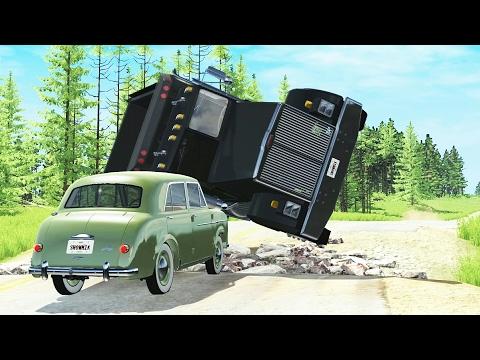 Truck Crashes Compilation - BeamNG.DRIVE •ShowMik