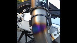 s1000r Austin racing gp2r full inconel system Videos & Books