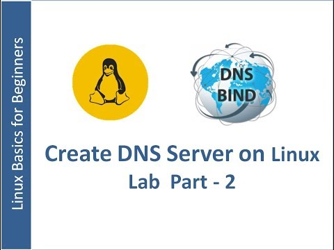 DNS Server Installation and Configuration on RHEL 7  Part -2