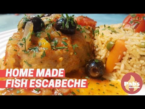 Fried Fish Escabeche (Tangy Flavor!) - Pabs Kitchen