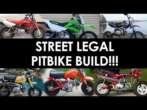 Pick My New Street Legal Pitbike Build