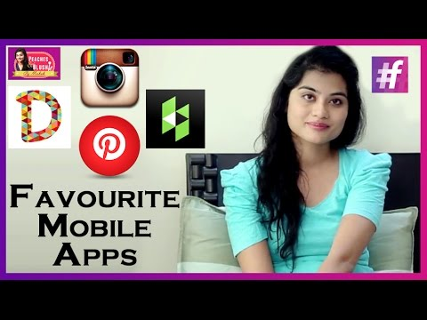 12 Favourite Mobile Apps   Peaches and Blush   By Mehak