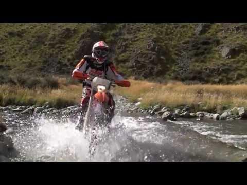 Dirt bike New Zealand - High Country Trail NZ