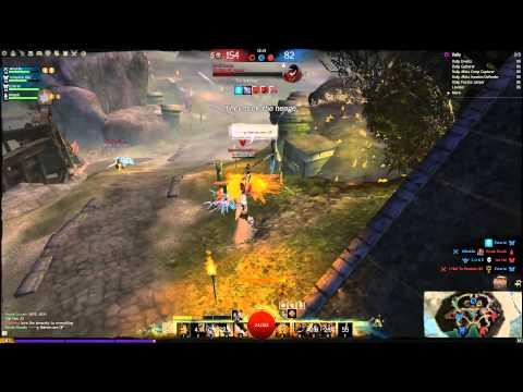 Power burst engineer vs Celestial axebow (Zone) - Guild Wars 2