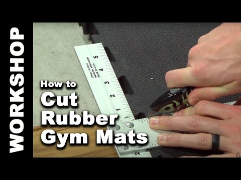How to Cut Rubber Gym Mats in 4 Easy Steps