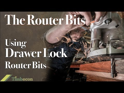 The Router Bits - Using Drawer Lock Router Bits