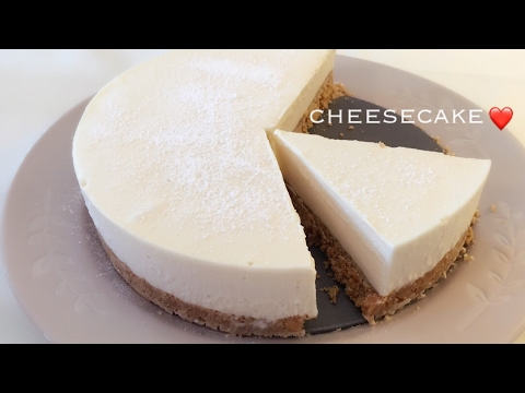 HOW TO MAKE CHEESE CAKE (NO BAKE)