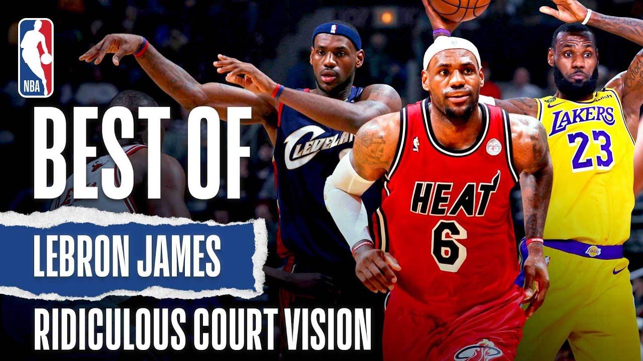 LeBron James' Ridiculous Court Vision 👀