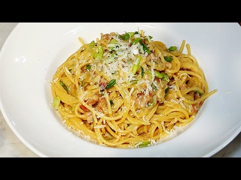 Lidia Bastianich's Recipe For Spaghetti Alla Carbonara