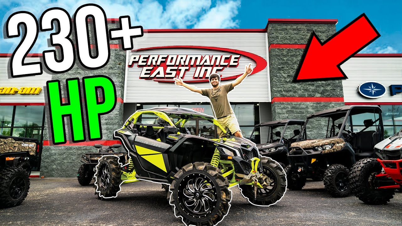 BUILDING THE BADDEST 2020 CAN-AM! 230 HP Mud MONSTER!