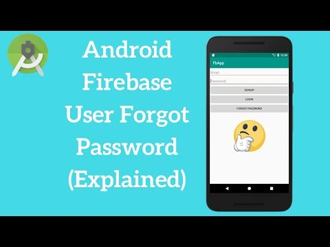 Android Firebase Send a Password Reset Email (Explained)
