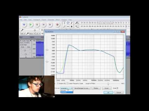 How to make an acoustic guitar sound distorted in Audacity