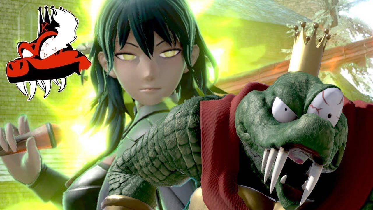 ASHEN DEMON - A Byleth Montage (Super Smash Bros. Ultimate)