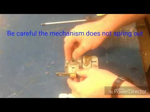 Mortise sashlock changing the orientation of the latch