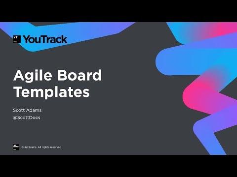 YouTrack Agile Board Templates