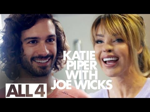 Katie Piper Learns Some New Gym Moves from Joe Wicks