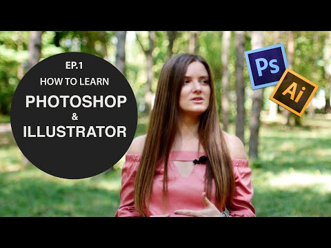 How To: Learn Photoshop & Illustrator (EP.1) | Graphic Design Stories | Art Olka