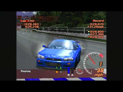 Gran Turismo 2  - Licence B3 - Starting And Stopping 3 (0:26.463)