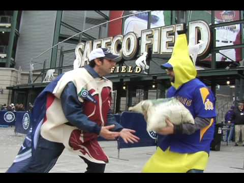 Meat & Banana Dance at Seattle Mariners Opening Day @ Safeco Field