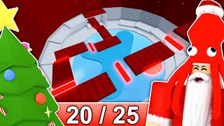 [20/25] CHRISTMAS STAGES in Tower of Hell... | Roblox